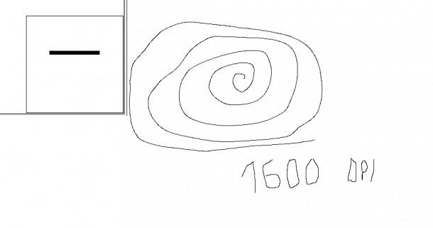 predykcja interpolacja zowie za12 1600dpi