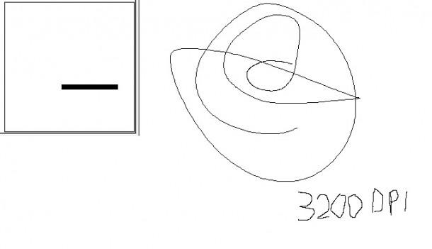 predykcja interpolacja zowie za12 3200dpi