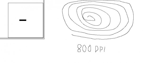 predykcja interpolacja zowie za12 800dpi