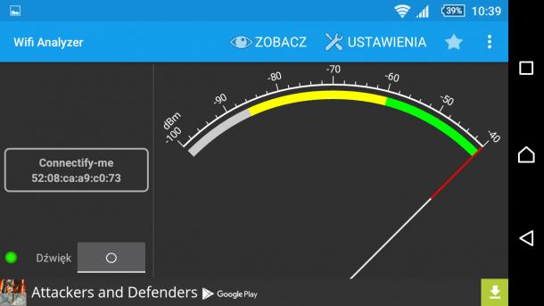 sony xperia z5 - wifi analyzer - test sygnału (1)