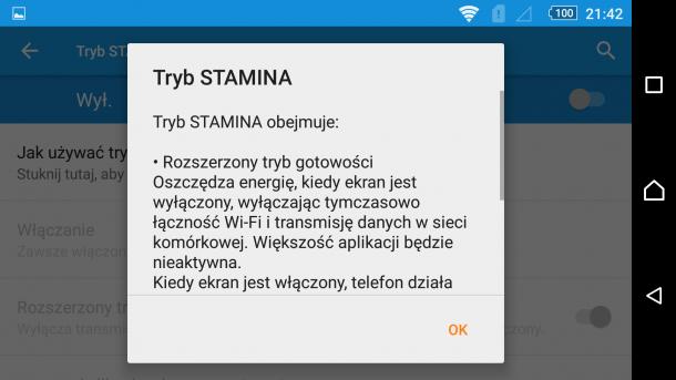 sony - stamina