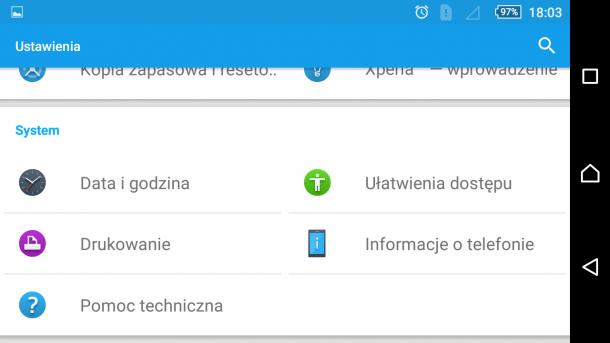 sony xperia m5 - android 5.1.1 nakładka sony (13)