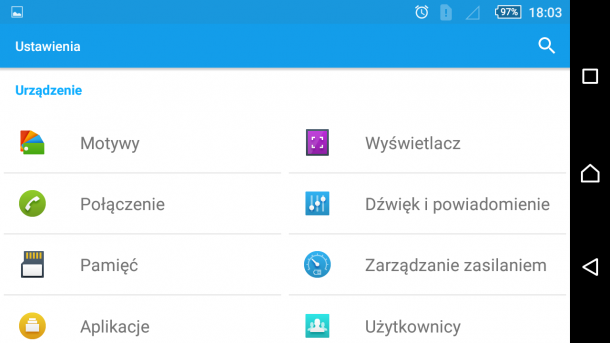 sony xperia m5 - android 5.1.1 nakładka sony (15)