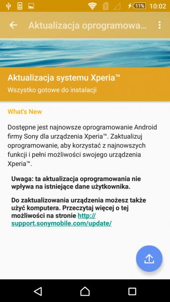 sony xperia m5 - android 5.1.1 nakładka sony (18)