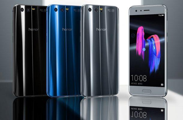 honor 9 wygląd smartfona