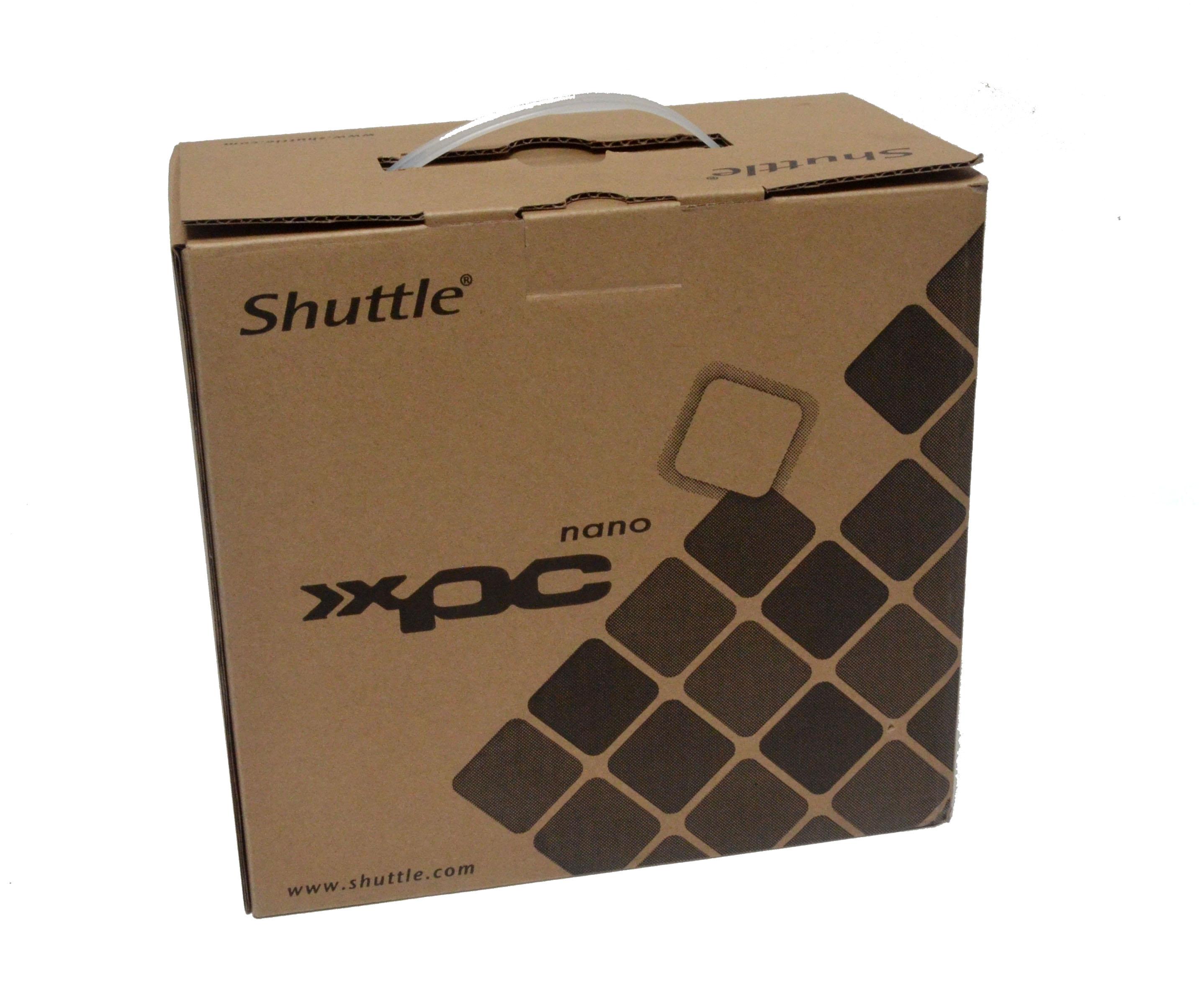 Shuttle XPC nano NC03U3 opakowanie