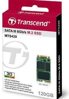 Transcend MTS420 120GB opakoanie