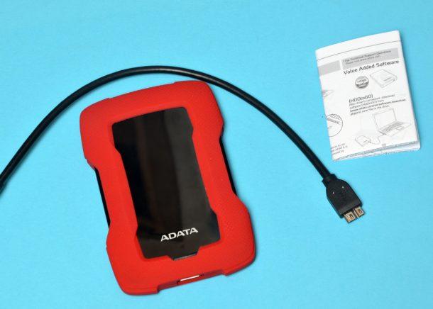 ADATA HD330 2TB dodatkowe wyposażenie