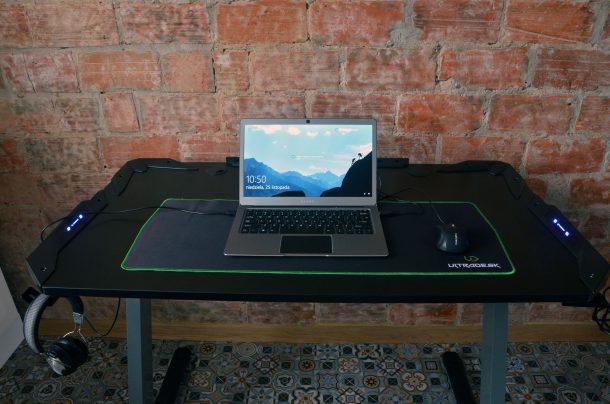 Ultradesk Space gotowe biurko zestaw komputer laptop