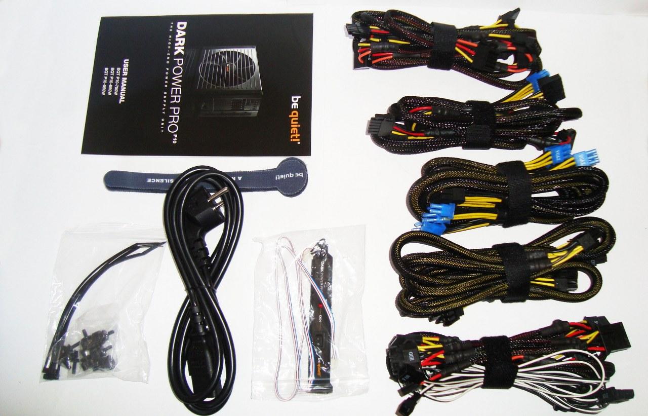 zasilacz be quiet! Dark Power Pro 10 akcesoria