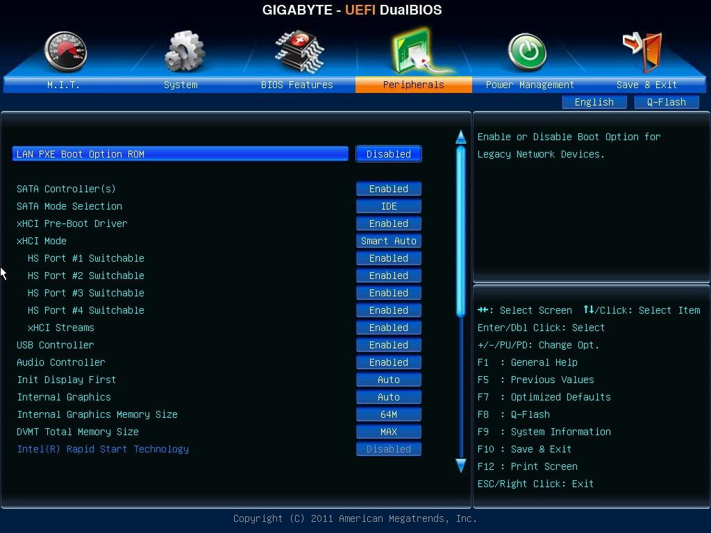 Peripherals, Dual UEFI BIOS, Gigabyte B75M-D3V