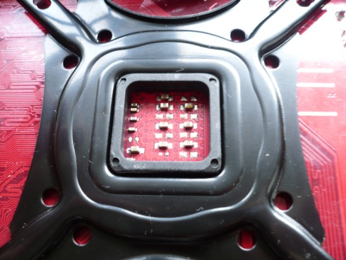 Zalman CNPS11X Performa montaż