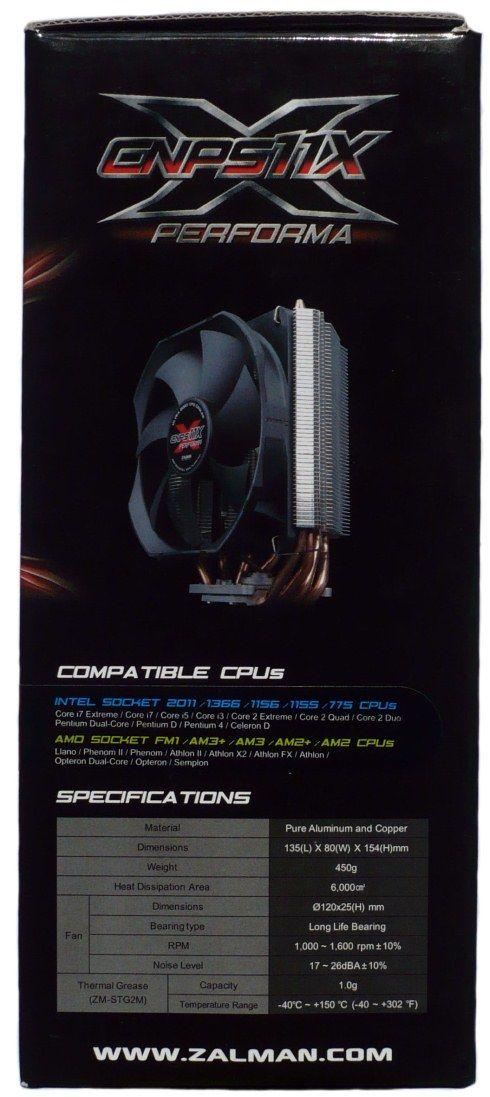 Zalman CNPS11X Performa opakowanie
