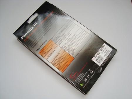 G.SKILL PHOENIX III 120GB opakowanie