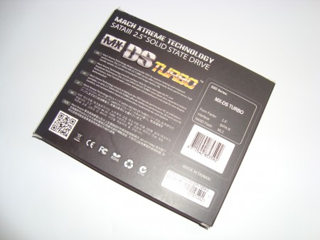 MACH EXTREME TECHNOLOGY MX DS Turbo 120Gb opakowanie