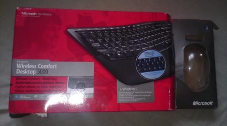 Opakowanie Microsoft Wireless Comfort Deskop 5000
