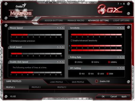Oprogramowanie Genius Maurus GX