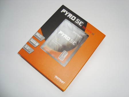 PATRIOT PYRO SE 120GB opakowanie