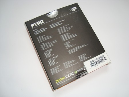 PATRIOT PYRO 120GB opakowanie