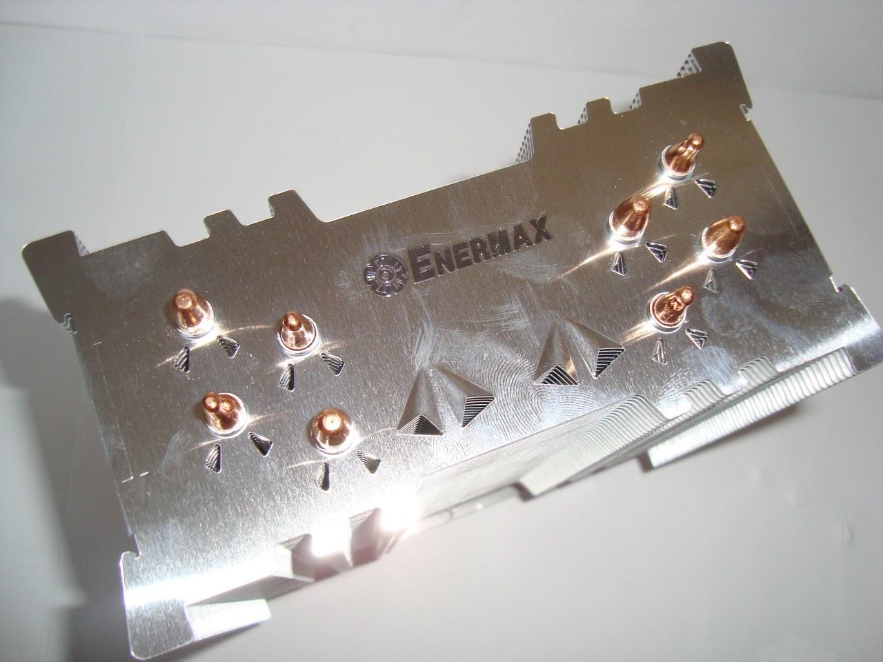 radiator i heatpipe w Enermax ETS-T40-TB