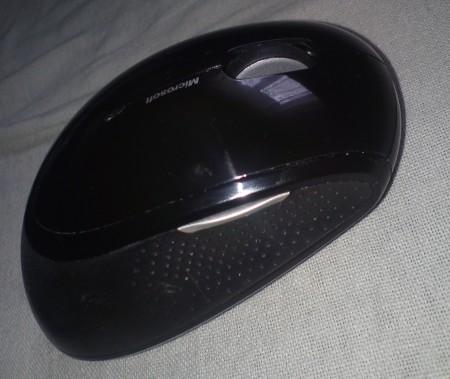Widok myszy z lewej strony Wireless Mouse 5000 Blue Track