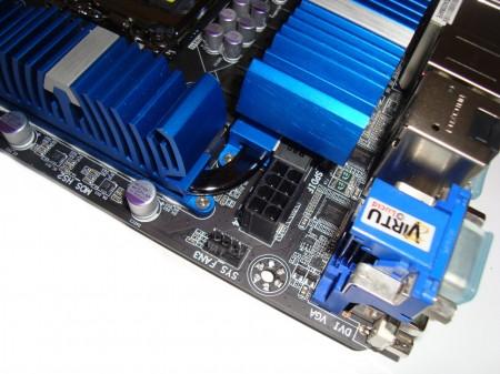 Gigabyte Z77X-UD5H-WB WIFI, gniazdo zasilania