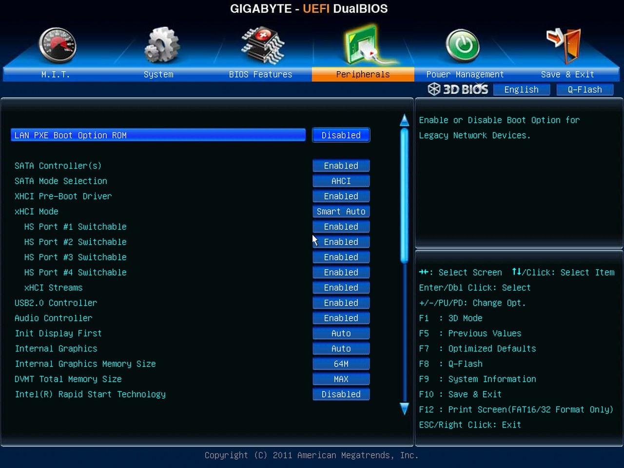 Gigabyte Z77X-UD5H-WB WIFI, BIOS UEFI, peripherals