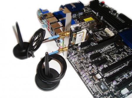 Gigabyte Z77X-UD5H-WB, karta WIFI