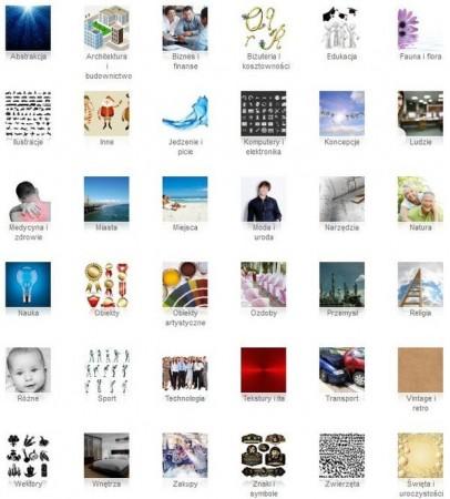 Depositphotos widok kategorii