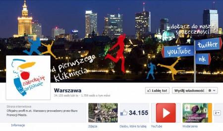 facebook Warszawa