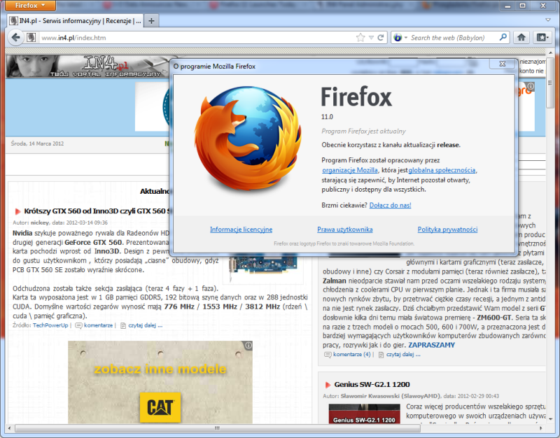 Free Mozilla Windows 7