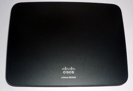 Linksys SE2800 switch