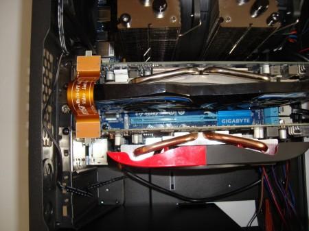 obudowa Antec One montaż karty graficznej
