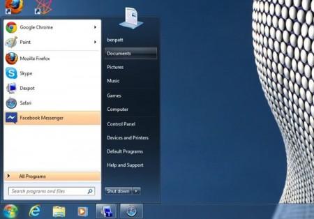 podswietlanie nowo zainstalowanych programow Windows