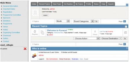 forum Joomla, komponent forum Joomla, własne forum Joomla, forum Kunena