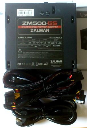 Zalman ZM500-GS zasilacz