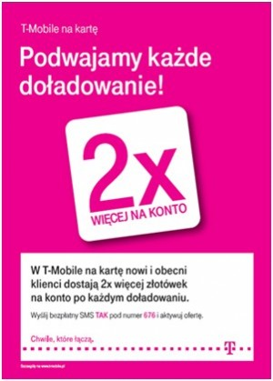 t-mobile promocja, doładowania t-mobile