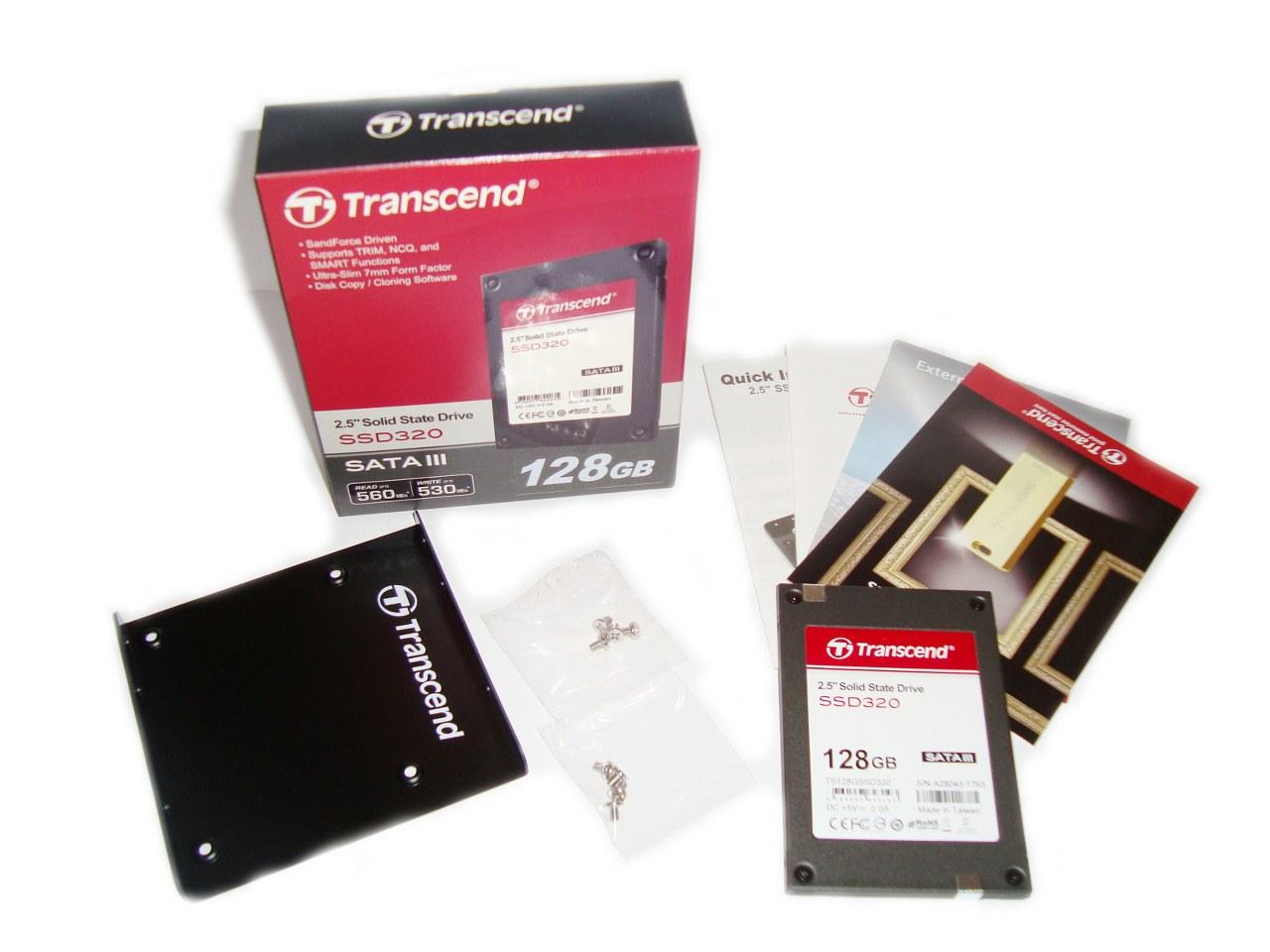 Transcend SSD320 128GB SATA III opakowanie