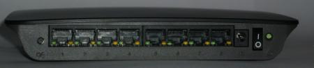 Linksys SE2800 wyjścia