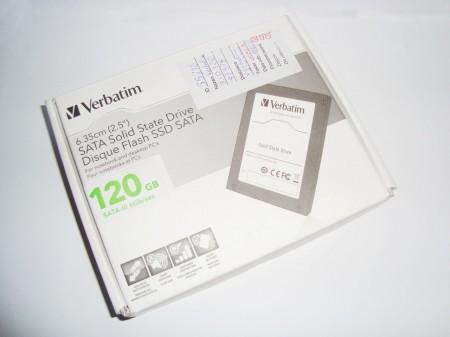 Verbatim 120GB SATA III opakowanie