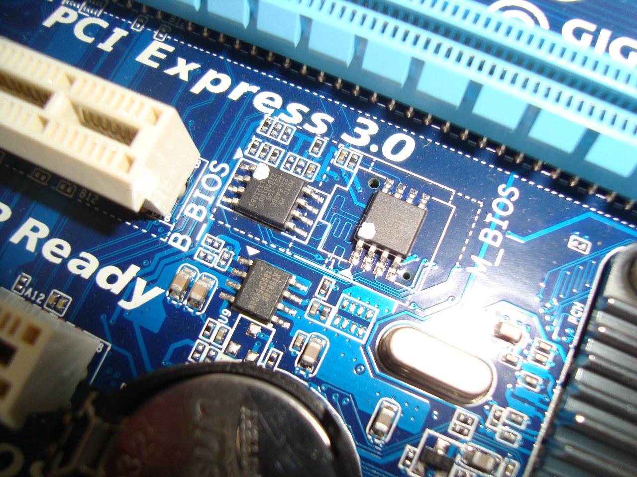 bateria CMOS, Gigabyte B75M-D3V