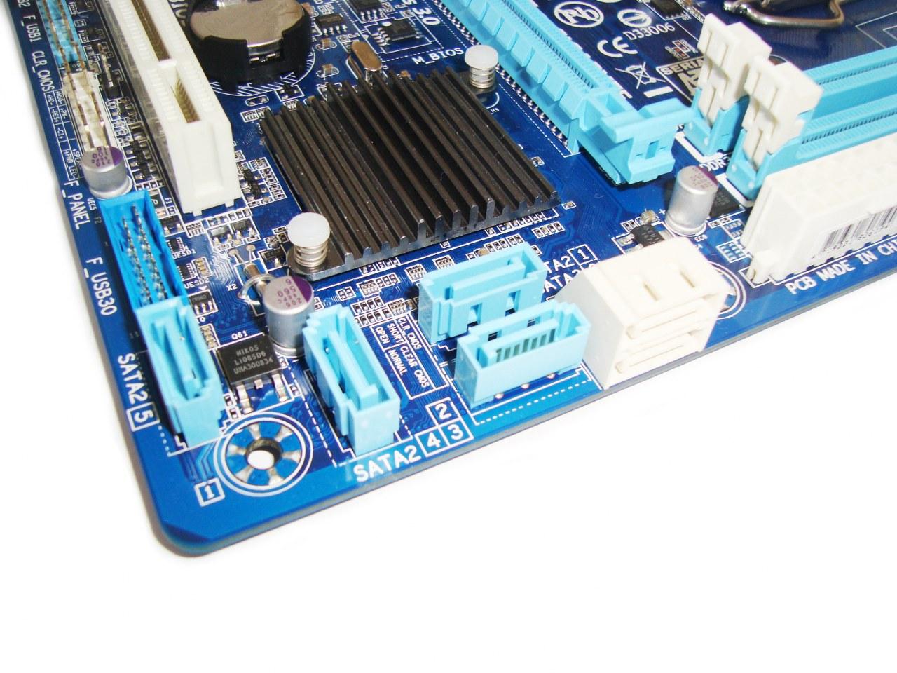 Chipset Intel B75 Gigabyte B75M-D3V
