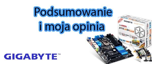 Rekomendacja Gigabyte Z77X-UD5H-WB WIFI