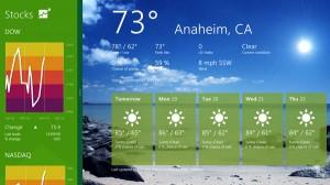 podgląd ostatnio używanej aplikacji Windows 8