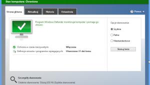 Windows Defender, program antywirusowy Windows 8