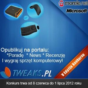 konkurs z nagrodami, konkurs Tweaks.pl, konkurs internetowy