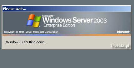 zamykanie Windows, powolne zamykanie Windows, Windows przymula